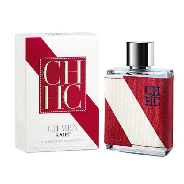 Carolina herrera ch sport men eau de toilette 100ml vaporizador